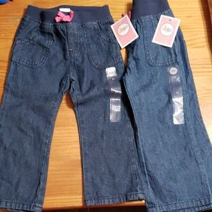 4/$24 - *NEW* Toddler Girl 2T Circo Jeans